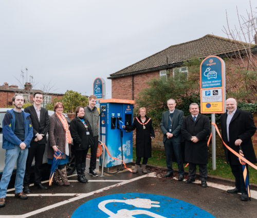 Fleet EV rapid charger launch